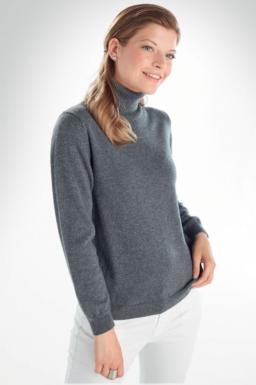 PULL COL ROULE MENTON